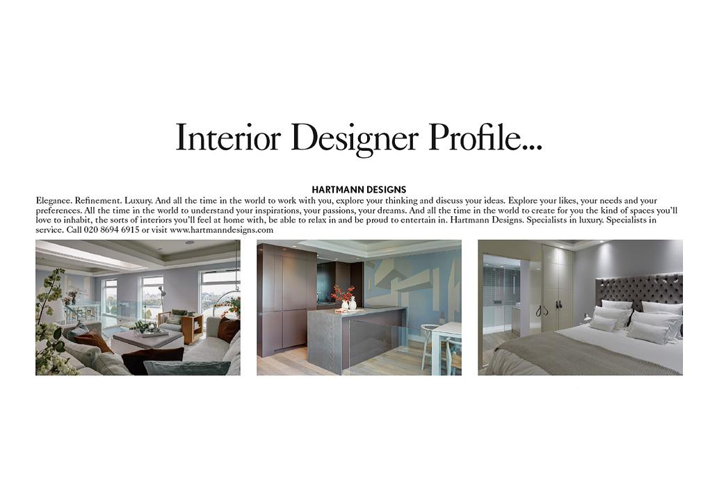 Hartmann designs luxury interior and architectural design for Interior planner